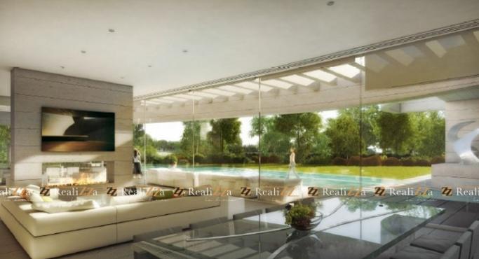 Realizza la finca vende vivienda obra nueva en La Finca Los Lagos , urbanizacion La Finca, salon principal